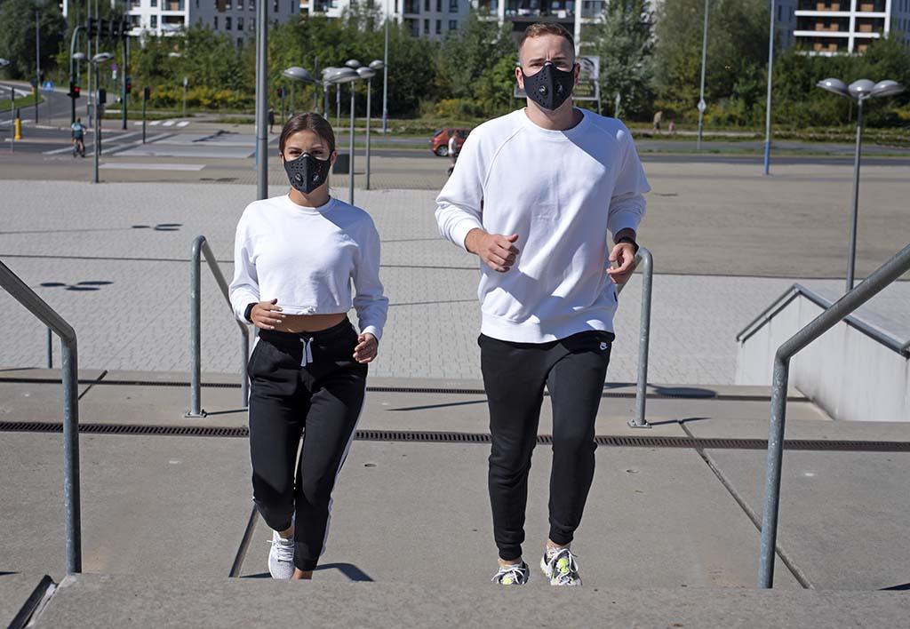 Maski antysmogowe do biegania